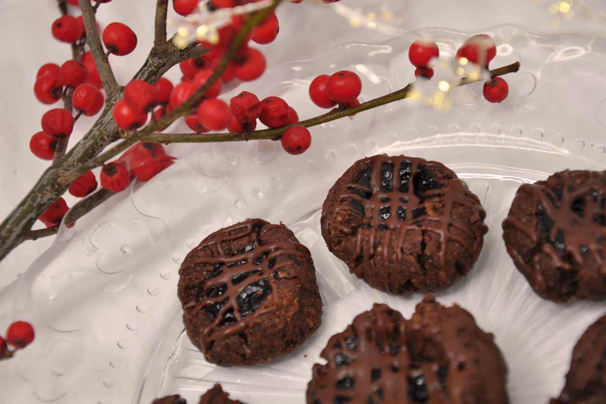 čokoladni ajdovi piškoti
