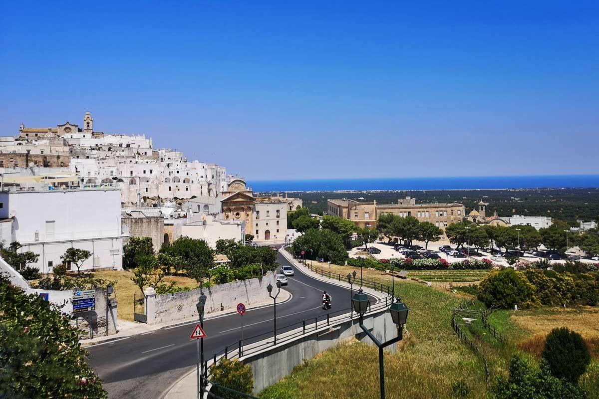 Puglia in belo mesto Ostuni